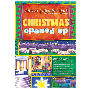 Advent Calender Pack: Christmas Opened Up