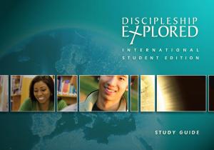 Discipleship Explored International Stud