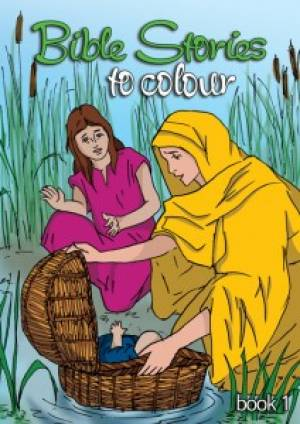 Bible Stories To Colour Book 1