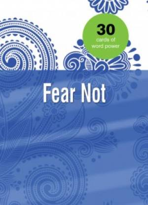 Word Power Cards: Fear Not