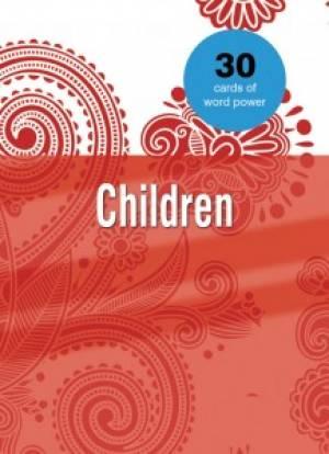 Word Power Cards: Children