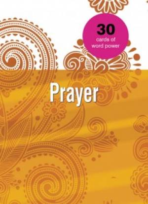 Word Power Cards: Prayer