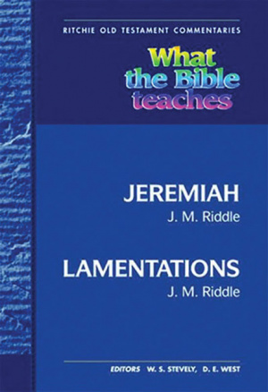 Wtbt Jeremiah And Lamentations Hb