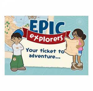 Epic Explorers Invitations (Pack of 50)