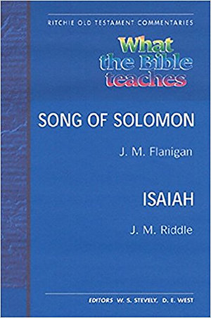 WTBT Vol 5 OT Song of Solomon, Isaiah