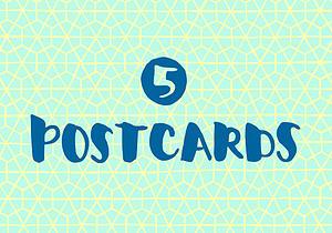 5 Postcards [Encouragement]