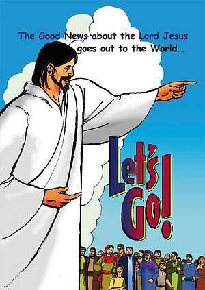 Children's Comic: Let's Go!