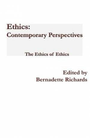 Ethics: Contemporary Perspectives