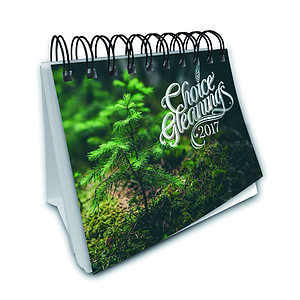 Choice Gleanings Desk 2017 Calendar