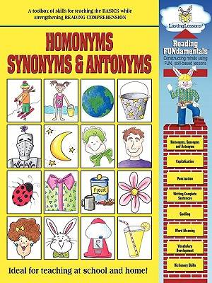 Homonymns Synonyms And Antonyms