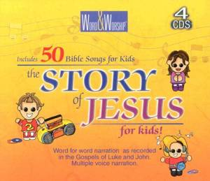 Story of Jesus for Kids 4 CD