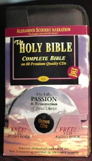 Scourby Complete Kjv Audio Cd Passion