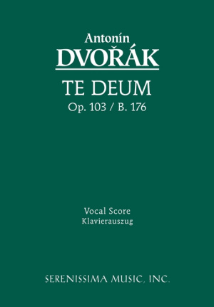 Te Deum, Op. 103 - Vocal Score
