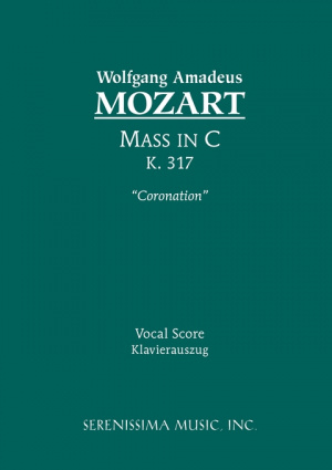 Mass in C Major, K. 317 'Coronation' - Vocal Score