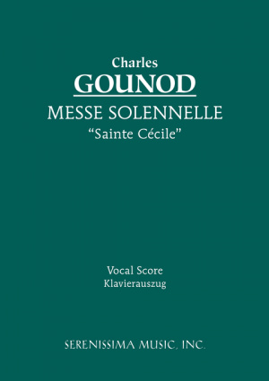 "Messe Solennelle ""Ste. Cecile"" - Vocal Socre"