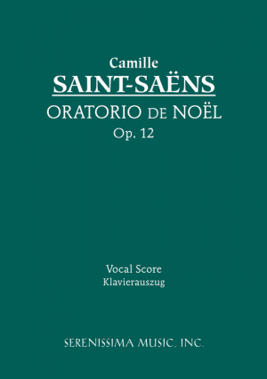 Oratorio de Noel, Op. 12 - Vocal Score