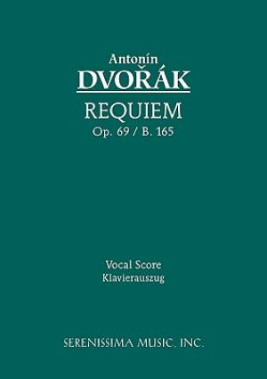 Requiem, Op. 89 / B. 165 - Vocal Score