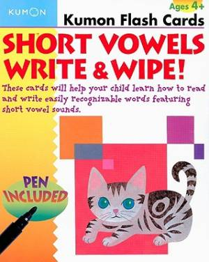 Short Vowels Write And Wipe Flash Cards