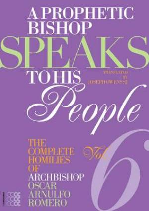 A Prophetic Bishop Speaks to His People