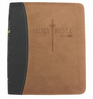 KJV ER Sword Bible Personal Size Imitation Leather Tan
