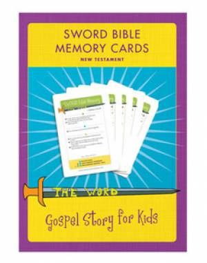 Sword Bible Memory Cards (New Testament) Cd