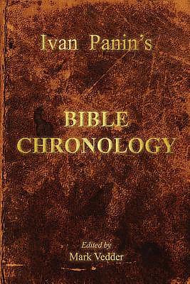 Ivan Panin's Bible Chronology