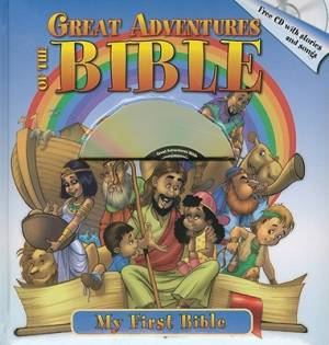 Great Adventures Of The Bible Bb Plus Cd