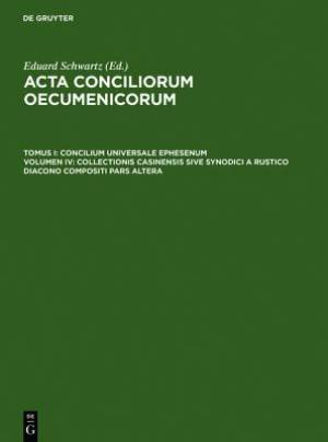 Collectionis Casinensis Sive Synodici a Rustico Diacono Compositi Pars Altera
