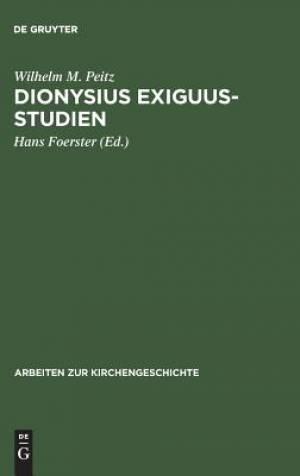 Dionysius Exiguus-Studien