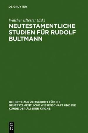 Neutestamentliche Studien Fur Rudolf Bultmann