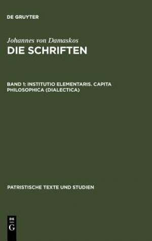 Institutio Elementaris. Capita Philosophica (Dialectica)