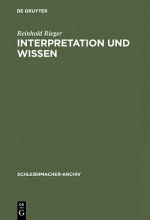Interpretation Und Wissen