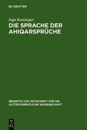 Die Sprache Der Ahiqarspr Che