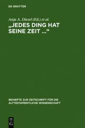 """""""Jedes Ding Hat Seine Zeit ..."""""""