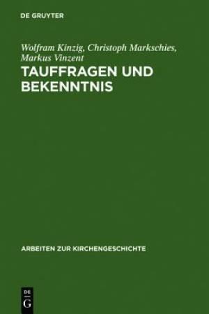 Tauffragen Und Bekenntnis