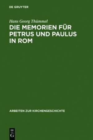 Memorien F R Petrus Und Paulus in ROM