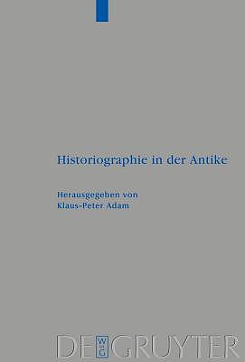 Historiographie in Der Antike