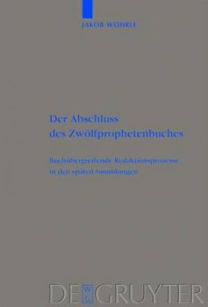 Abschluss Des Zwolfprophetenbuches