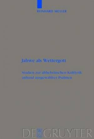 Jahwe ALS Wettergott