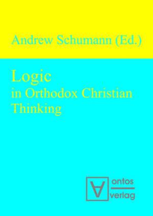 Logic in Orthodox Christian Thinking