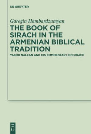 The Book of Sirach in the Armenian Biblical Tradition