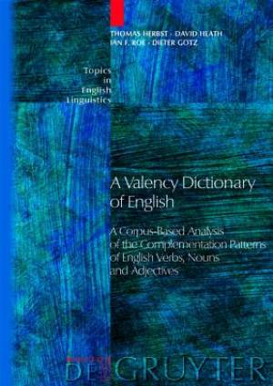 A Valency Dictionary of English