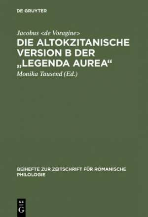 Altokzitanische Version B Der Legenda Aurea