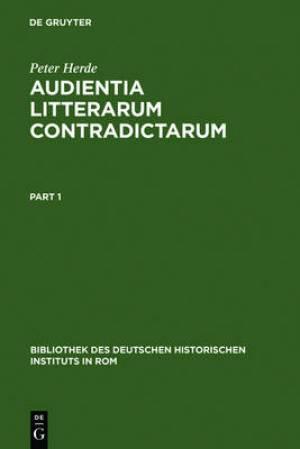 Audientia Litterarum Contradictarum