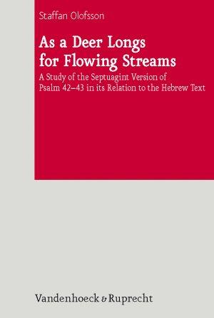 As a Deer Longs for Flowing Streams