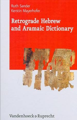 Retrograde Hebrew and Aramaic Dictionary