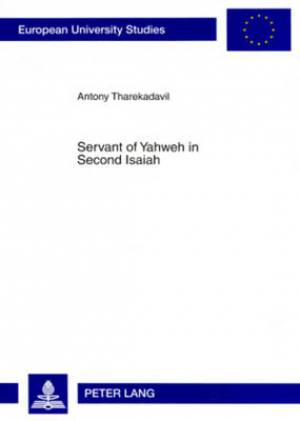 Servant of Yahweh in Second Isaiah