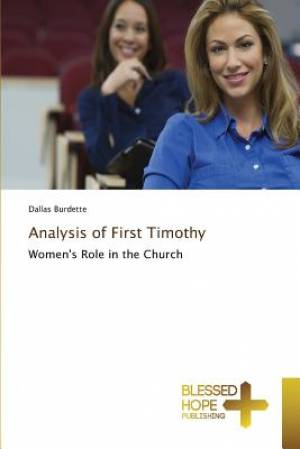 Analysis of First Timothy