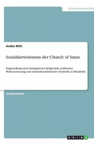Sozialdarwinismus Der Church of Satan