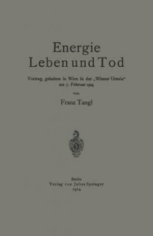 Energie Leben Und Tod